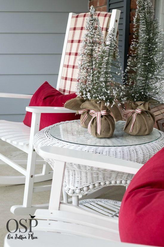 Hiên nhà xinh đẹp đón khách nhờ những ý tưởng decor độc đáo mùa Giáng sinh - Ảnh 17.