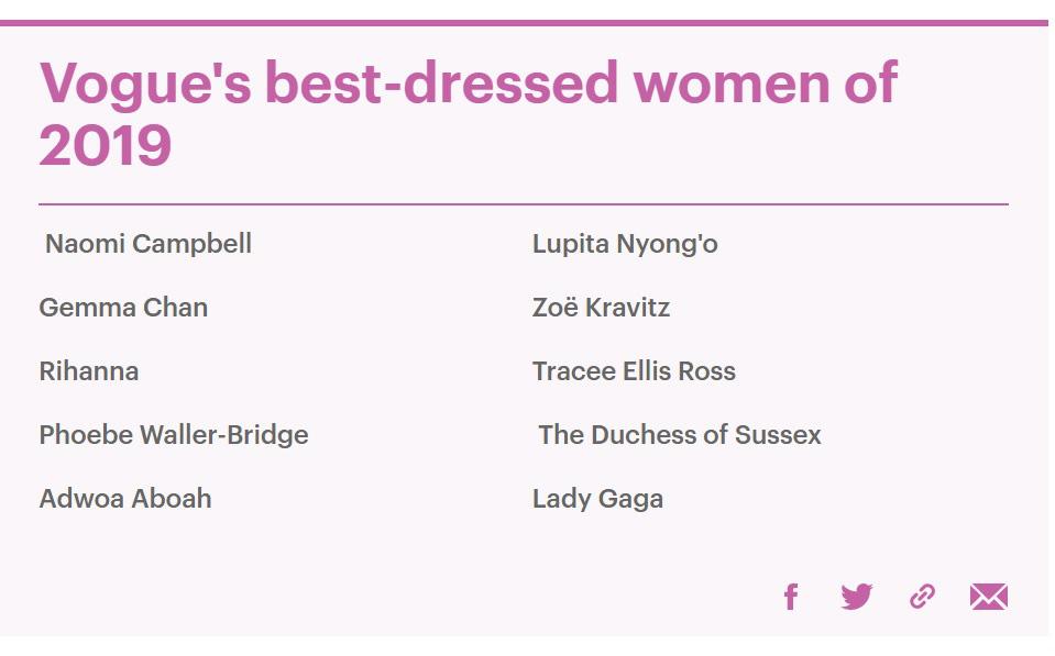 """Meghan Markle """"vượt mặt"""" chị dâu Kate trong cuộc chiến mặc đẹp năm 2019 do Vogue Anh bình chọn - Ảnh 3."""