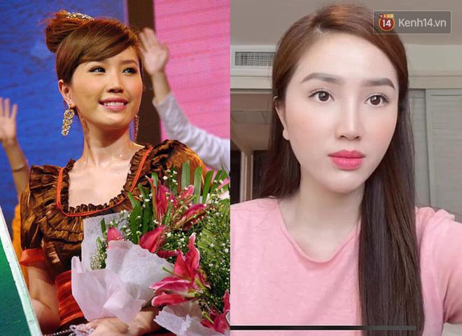 """Sao Việt đổi style makeup chóng mặt sau 10 năm: Ngọc Trinh, Lan Ngọc bớt """"sến""""; đẹp ngỡ ngàng là Chi Pu, Minh Hằng - Ảnh 7."""