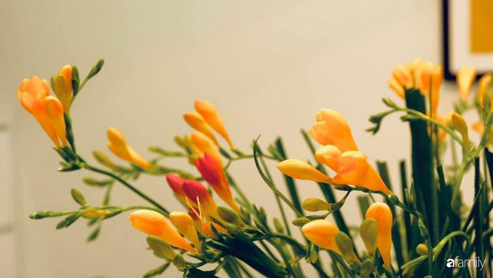 Ngày đầu năm ghé thăm những góc nhỏ dịu dàng sắc hoa trong căn nhà ấm cúng của bà mẹ trẻ Hà Nội - Ảnh 26.