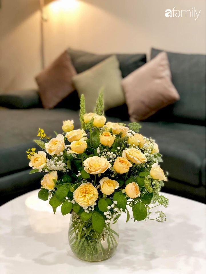 Ngày đầu năm ghé thăm những góc nhỏ dịu dàng sắc hoa trong căn nhà ấm cúng của bà mẹ trẻ Hà Nội - Ảnh 14.