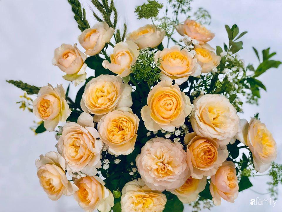 Ngày đầu năm ghé thăm những góc nhỏ dịu dàng sắc hoa trong căn nhà ấm cúng của bà mẹ trẻ Hà Nội - Ảnh 13.