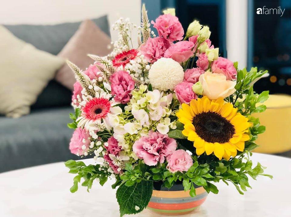 Ngày đầu năm ghé thăm những góc nhỏ dịu dàng sắc hoa trong căn nhà ấm cúng của bà mẹ trẻ Hà Nội - Ảnh 12.