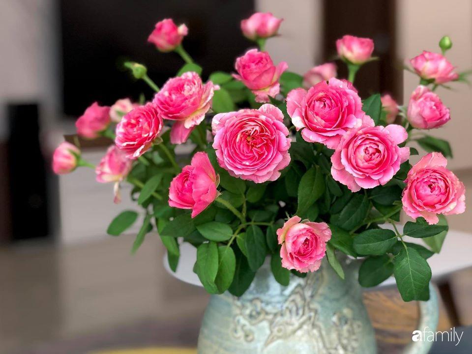Ngày đầu năm ghé thăm những góc nhỏ dịu dàng sắc hoa trong căn nhà ấm cúng của bà mẹ trẻ Hà Nội - Ảnh 11.