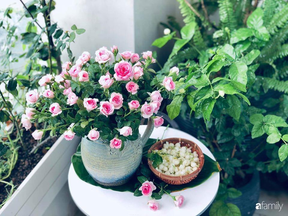 Ngày đầu năm ghé thăm những góc nhỏ dịu dàng sắc hoa trong căn nhà ấm cúng của bà mẹ trẻ Hà Nội - Ảnh 10.