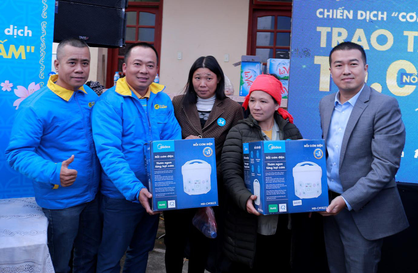 Điện Máy Xanh trao 10.000 nồi cơm điện cho người nghèo cả nước - Ảnh 6.