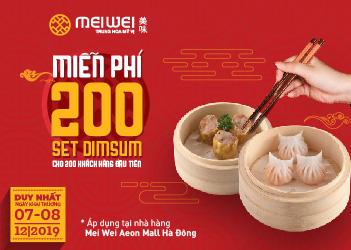 Hơn 400 phần quà miễn phí mừng khai trương 3 nhà hàng King BBQ Buffet, Meiwei, Truly Việt tại Aeon Mall Hà Đông - Ảnh 1.