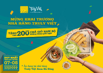 Hơn 400 phần quà miễn phí mừng khai trương 3 nhà hàng King BBQ Buffet, Meiwei, Truly Việt tại Aeon Mall Hà Đông - Ảnh 2.