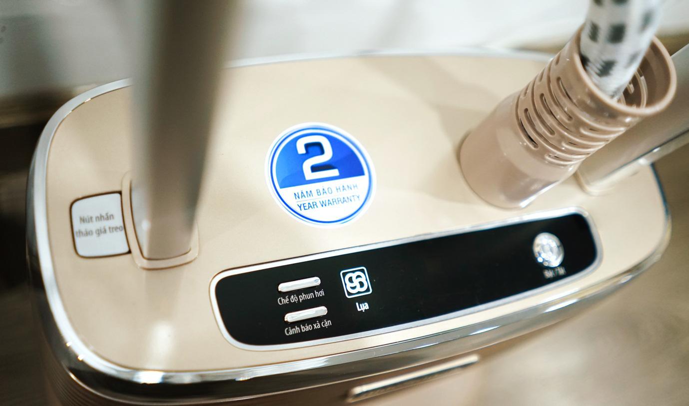 Bàn ủi hơi nước đứng phù hợp với nhiều đối tượng người dùng - Ảnh 2.