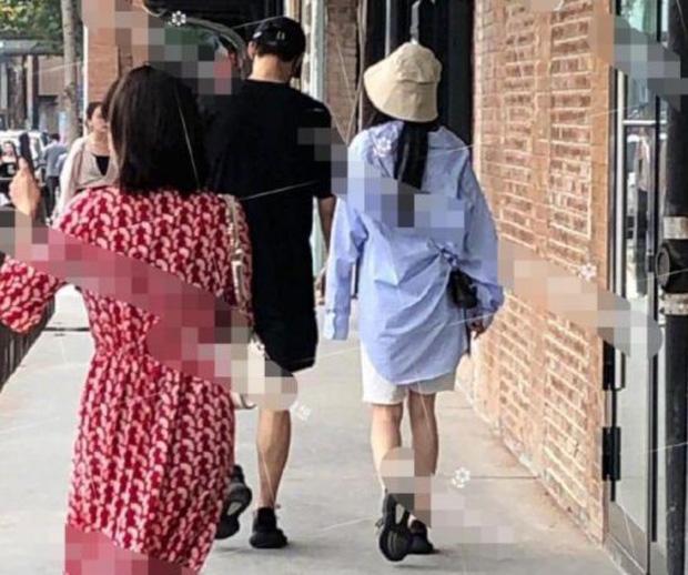 Dương Mịch lộ bằng chứng hẹn hò trai trẻ Ngụy Đại Huân khi cùng đội chung mũ, đi chung giày - Ảnh 6.
