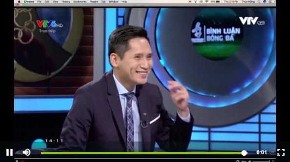 BTV Quốc Khánh lên tiếng cực khéo léo, khiến chẳng ai giận nổi sau lùm xùm chế giễu thủ môn Bùi Tiến Dũng ngay trên sóng truyền hình - Ảnh 2.