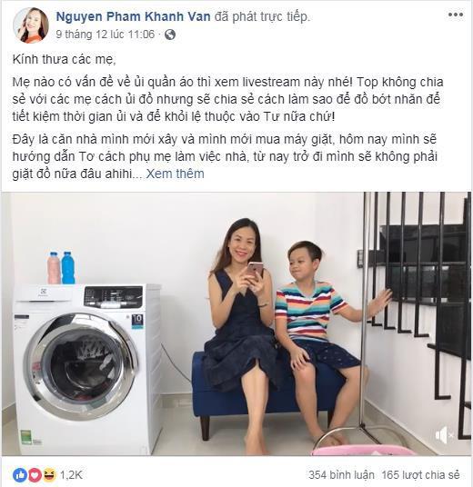 """Bí quyết tiết kiệm thời gian giặt ủi của các """"hot mom"""" Việt - Ảnh 3."""