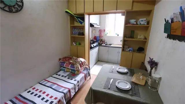 Vợ chồng trẻ cải tạo nhà tập thể cũ 37m² từ ai đến mua cũng chê thành tổ ấm sang chảnh vạn người mê - Ảnh 12.