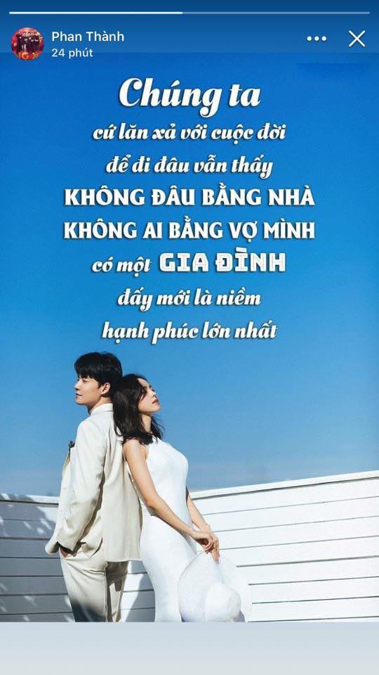 Phản ứng trái ngược của Midu và Primmy Trương khi Phan Thành chia sẻ khao khát có một gia đình hạnh phúc - Ảnh 1.