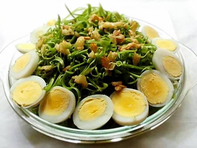 Cần giảm cân bữa tối hãy ăn rau muống trộn dầu giấm cực ngon bạn nhé! - Ảnh 4.