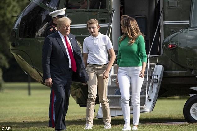 Cậu út nhà Trump - phiên bản nhí của Tổng thống Donald Trump: Vẻ ngoài sáng láng như tài tử, gu thời trang chỉn chu lịch lãm ngay từ khi còn nhỏ xíu - Ảnh 17.