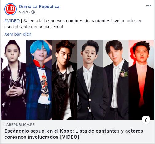 Showbiz Hàn chấn động với thông tin thành viên của EXO và BTS bất ngờ bị nghi dính dáng tới group chat sex - Ảnh 2.
