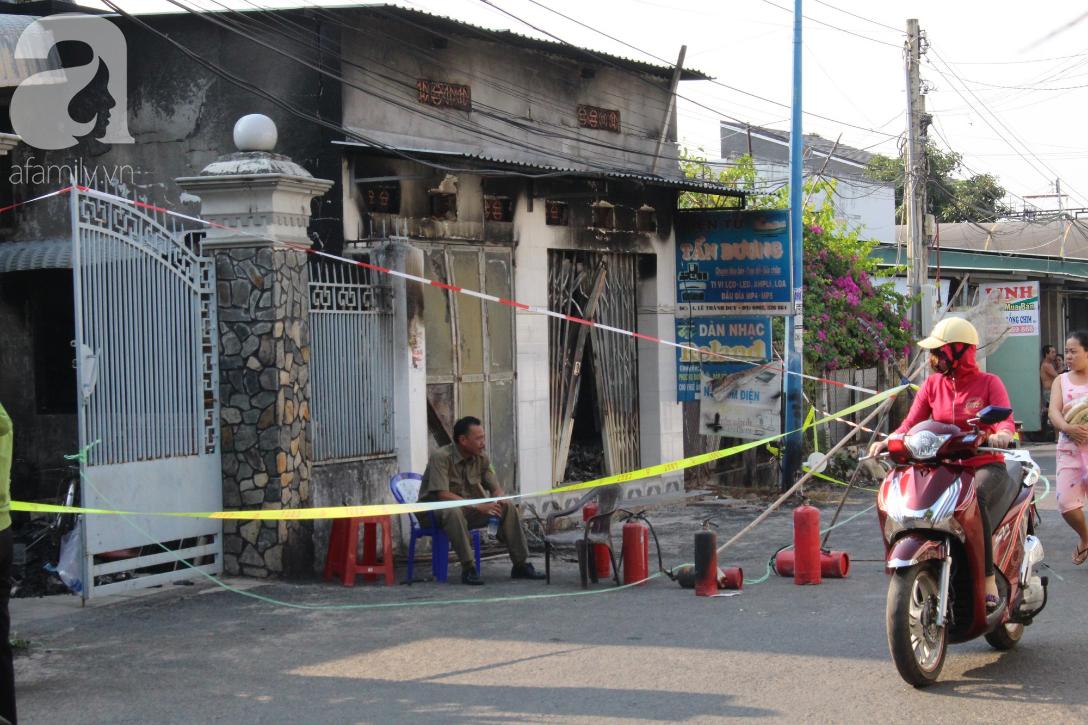 Cháy cửa hàng điện tử, 3 người một gia đình chết thảm, trong đó có bé gái mới 10 tuổi - Ảnh 1.