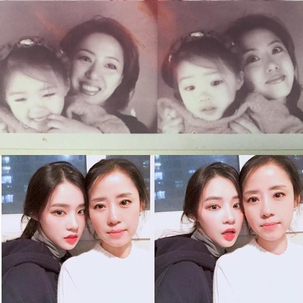 2 mẹ con hotgirl Hàn Quốc gây sốt MXH sau 3 năm: Từng trông như chị em nhưng nhan sắc hiện tại lại quá khác biệt - Ảnh 9.