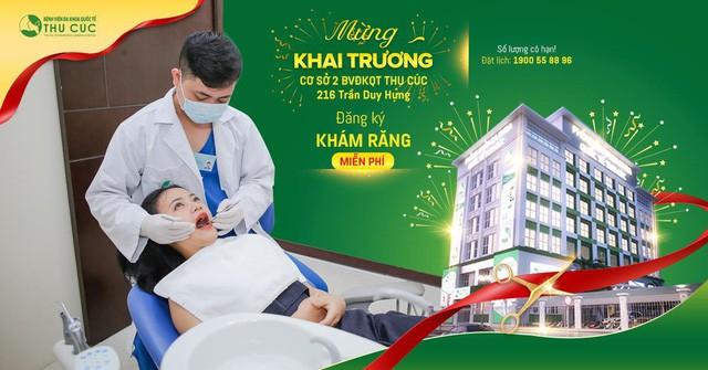 Khai trương phòng khám ĐKQT Thu Cúc: tặng quà khám răng miễn phí - Ảnh 3.