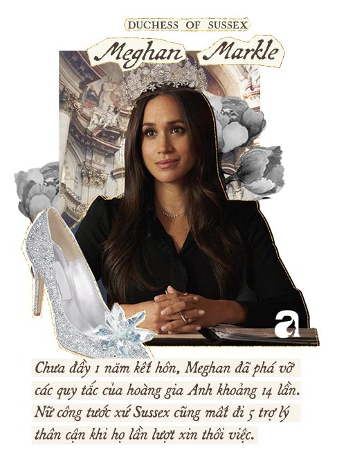Meghan Markle: Từ nàng Lọ Lem da màu được kì vọng đến nàng dâu Hoàng gia thị phi, nhất cử nhất động đều bị công chúng chỉ trích - Ảnh 6.