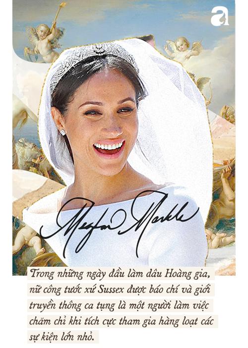 Meghan Markle: Từ nàng Lọ Lem da màu được kì vọng đến nàng dâu Hoàng gia thị phi, nhất cử nhất động đều bị công chúng chỉ trích - Ảnh 4.