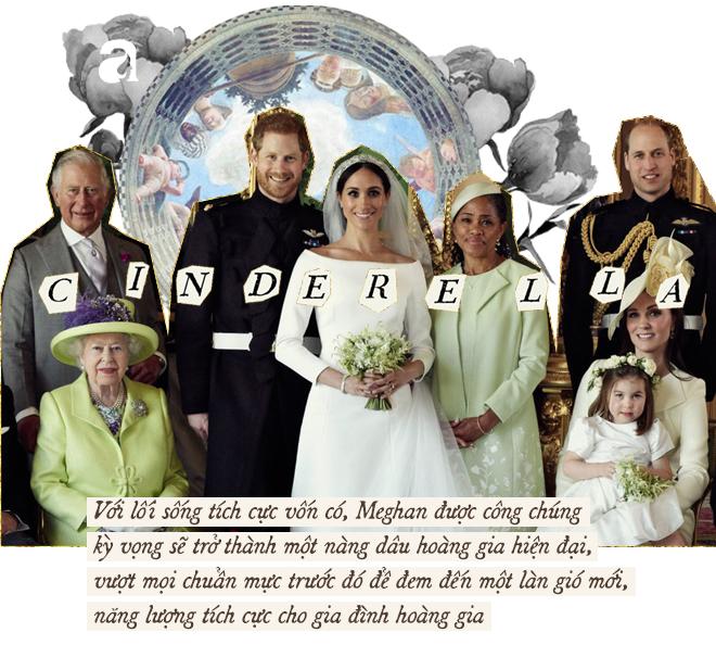 Meghan Markle: Từ nàng Lọ Lem da màu được kì vọng đến nàng dâu Hoàng gia thị phi, nhất cử nhất động đều bị công chúng chỉ trích - Ảnh 3.