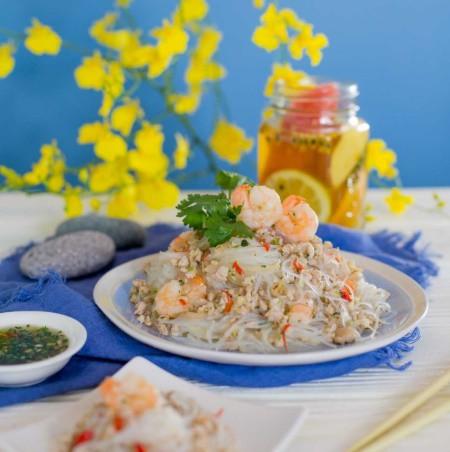Từ khi học lỏm được công thức làm miến trộn của đầu bếp người Thái, tôi chẳng bao giờ phải tốn tiền đi nhà hàng để ăn món này nữa - Ảnh 6.
