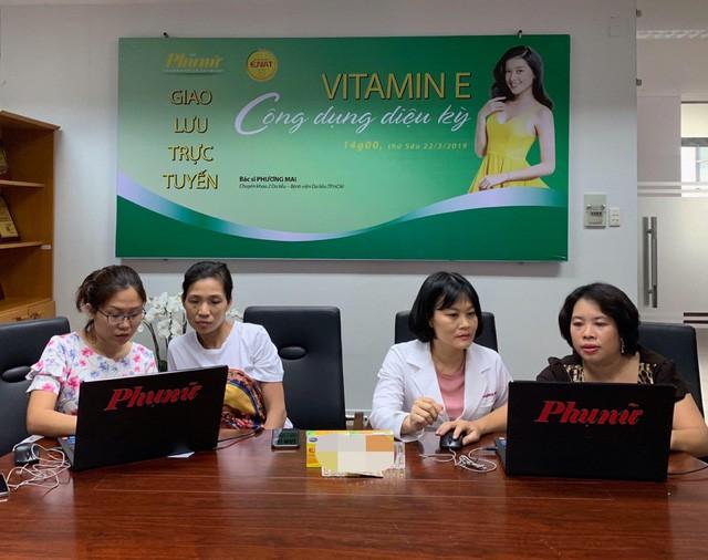 Tác dụng của vitamin E dưới góc nhìn chuyên gia - Ảnh 2.