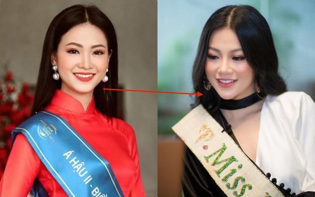 Đụng hàng hết Kỳ Duyên lại Diệp Lâm Anh, nhưng khuôn mặt của Miss Earth Phương Khánh mới là điều dân tình chú ý - Ảnh 8.