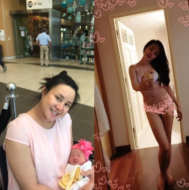 Vy Oanh tiết lộ hình ảnh xuống sắc khi mang thai: Tăng 24kg, mặt đầy mụn, nám khiến nhiều mẹ bỉm sữa đồng cảm vì nỗi khổ chung - Ảnh 1.