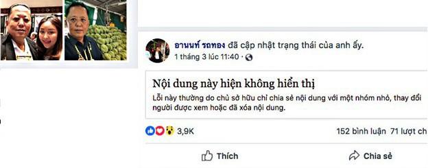 Chủ vựa sầu riêng Thái Lan hủy kế hoạch chi 7 tỷ đồng kén rể, nói mình sắp chết vì điện thoại liên tục reo - Ảnh 1.