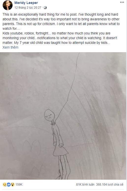Thấy bức tranh con gái 7 tuổi vẽ, bà mẹ hoảng hồn nhận ra sai lầm chết người của mình và lên tiếng khẩn thiết cảnh báo phụ huynh - Ảnh 2.