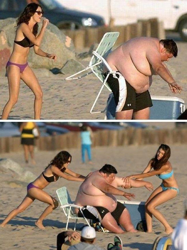 Những bức ảnh ấn tượng chỉ có thể bắt gặp ở bãi biển khiến ai nhìn thấy cũng phải cười sái quai hàm mới thôi - Ảnh 11.