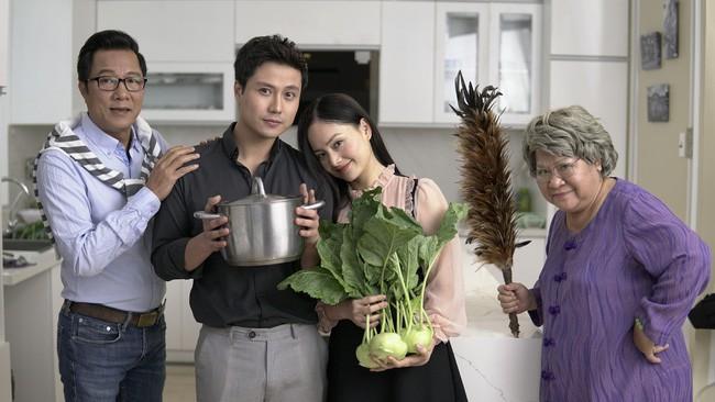 Nàng dâu order - phim Việt có cách biệt tuổi tác khủng nhất: Nữ chính hơn nam chính 8 tuổi, bố nam chính yêu người đáng tuổi con mình - Ảnh 1.