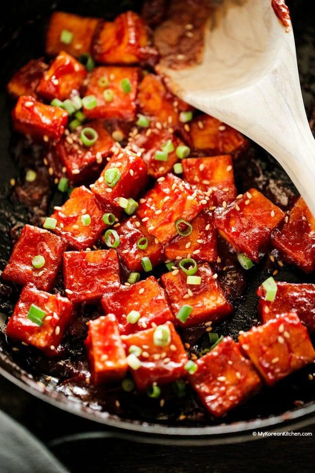 Đâu chỉ người Việt, người Hàn cũng có đậu phụ xốt cà chua ngon lắm đây này! - Ảnh 4.