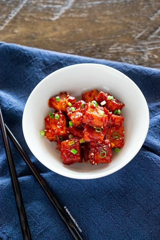 Đâu chỉ người Việt, người Hàn cũng có đậu phụ xốt cà chua ngon lắm đây này! - Ảnh 5.