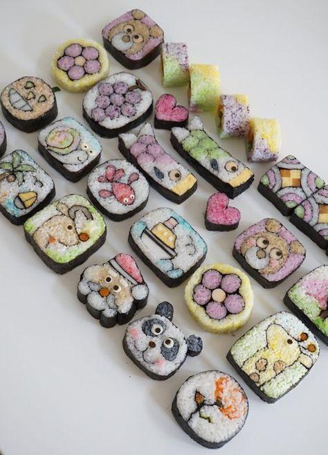 Có những cách làm sushi đẹp đến nao lòng chẳng nỡ ăn, chính bạn cũng có thể làm được - Ảnh 8.