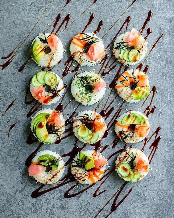Có những cách làm sushi đẹp đến nao lòng chẳng nỡ ăn, chính bạn cũng có thể làm được - Ảnh 5.