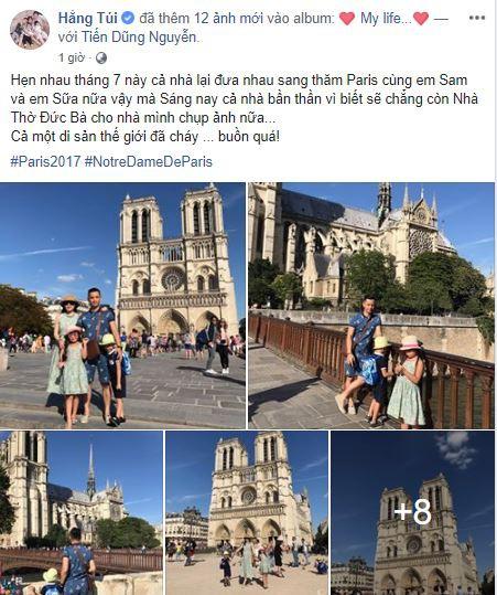 Dân mạng Việt thảng thốt, giăng status xót xa trước vụ cháy Nhà thờ Đức Bà Paris - Ảnh 6.