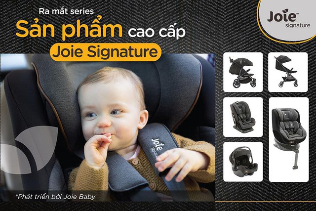 Joie Baby ra mắt series sản phẩm mới – Joie Signature - Ảnh 1.