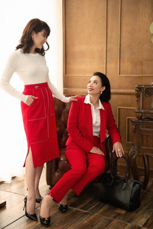Gout thời trang đẳng cấp của những nữ doanh nhân tài sắc vẹn toàn - Ảnh 3.