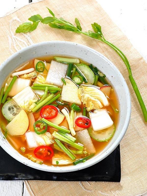 Học cách làm món dưa góp kiểu Hàn, ăn với gì cũng ngon - Ảnh 4.