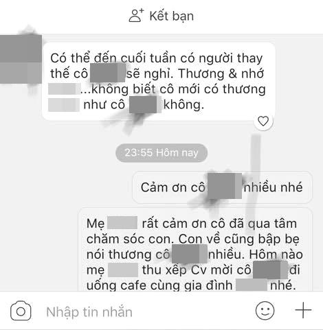 Nửa đêm đọc tin nhắn cô giáo của con gửi cho chồng đầy tha thiết, mẹ trẻ ngẩn người vì cô ngưỡng mộ ba của con - Ảnh 2.