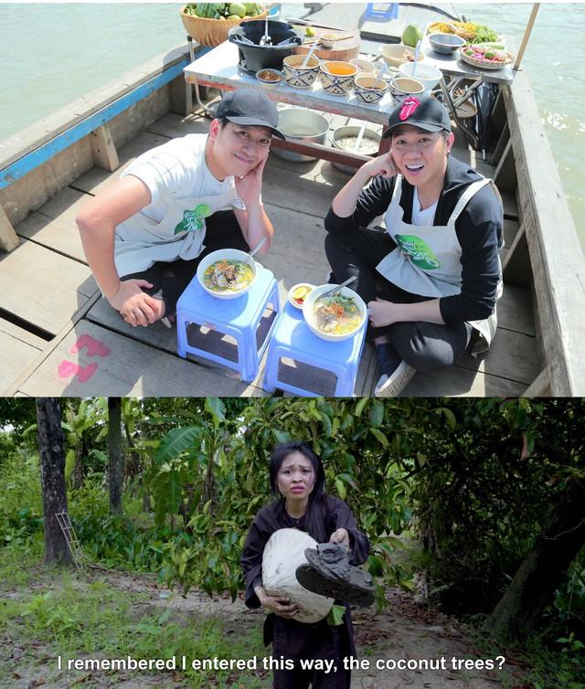 """Mặc Lê Lộc """"lạc trôi"""", Anh Đức rủ Trường Giang đi nấu cá lóc ăn ngon lành - Ảnh 5."""