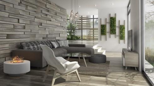 Những phòng khách độc đáo, hấp dẫn trong nhiều không gian khác nhau - Ảnh 4.