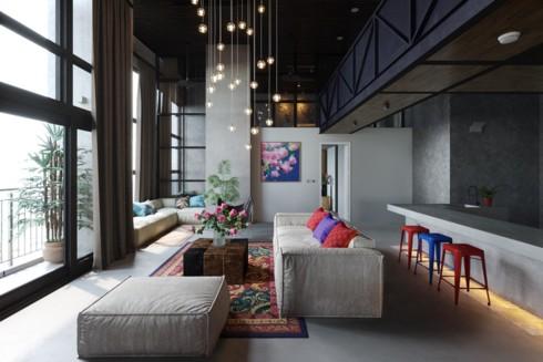 Những phòng khách độc đáo, hấp dẫn trong nhiều không gian khác nhau - Ảnh 5.