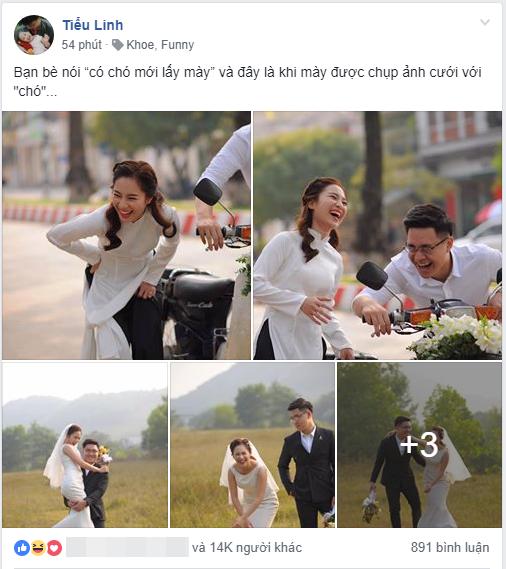 Phía sau bộ ảnh cưới hài hước nhất MXH hôm nay: Ghét nhau từ cái nhìn đầu tiên, yêu 7 năm nhưng chưa 1 lần chia tay - Ảnh 1.
