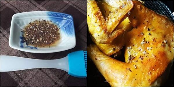 Mẹ nào có nồi chiên không dầu, lấy ngay ra làm món gà nướng ăn ngon đứt lưỡi - Ảnh 5.