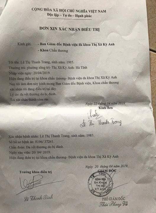 Đăng tin nhắn giữa chồng và nữ giáo viên, 1 phụ nữ tố bị cô giáo xông vào nhà hành hung - Ảnh 1.